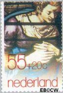 Nederland NL 1177  1979 Goudse Glazen restauratie 55+20 cent  Gestempeld
