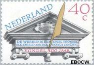 Nederland NL 1184  1979 Vondel, Joost van den 40 cent  Gestempeld