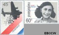 Nederland NL 1198#1199  1980 Bezetting en bevrijding  cent  Gestempeld