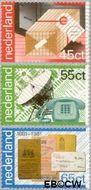 Nederland NL 1220#1222  1981 PTT-diensten  cent  Gestempeld