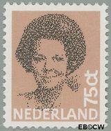 Nederland NL 1239  1982 Koningin Beatrix- Type 'Struycken' 75 cent  Gestempeld