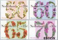 Nederland NL 1262#1265  1982 Floriade  cent  Gestempeld