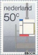 Nederland NL 1287  1983 De Stijl 50 cent  Gestempeld