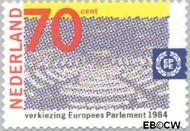 Nederland NL 1300#  1984 Verkiezingen Europees Parlement  cent  Gestempeld