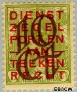 Nederland NL 132  1923 Opruimingsuitgifte 10#3 cent  Gestempeld