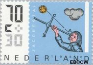 Nederland NL 1351  1986 Meetinstrumenten 70+30 cent  Gestempeld