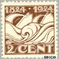 Nederland NL 139  1924 Ned. Reddingmaatschappij 2 cent  Gestempeld