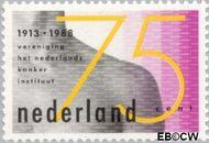 Nederland NL 1403  1988 Kankerinstituut 75 cent  Gestempeld