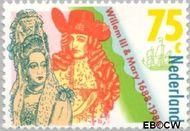 Nederland NL 1407  1988 William & Mary 75 cent  Gestempeld