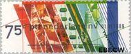 Nederland NL 1420  1989 Verzelfstandiging P.T.T. 75 cent  Gestempeld