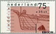 Nederland NL 1427c  1989 Schepen 75+35 cent  Gestempeld