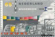 Nederland NL 1431  1989 Spoorwegen 65 cent  Gestempeld