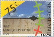 Nederland NL 1441  1990 Arbeidsinspectie 75 cent  Postfris
