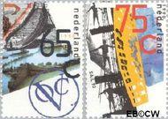 Nederland NL 1453#1454  1990 Scheepvaart  cent  Gestempeld