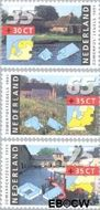 Nederland NL 1468#1470  1991 Boerderijen  cent  Postfris