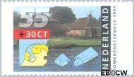 Nederland NL 1471a  1991 Boerderijen 55+30 cent  Gestempeld
