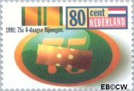 Nederland NL 1477#  1991 Nijmeegse vierdaagse  cent  Gestempeld