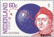 Nederland NL 1527  1992 C.E.P.T.- Ontdekking Amerika 60 cent  Postfris