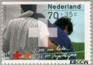 Nederland NL 1535b  1992 Rode Kruis 70+35 cent  Gestempeld