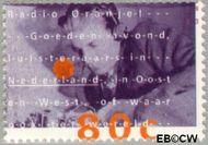 Nederland NL 1562  1993 Radio Oranje 80 cent  Gestempeld
