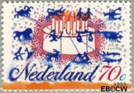 Nederland NL 1646#  1995 Sterrenbeelden  cent  Gestempeld