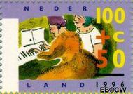 Nederland NL 1675  1996 Ouderen 100+50 cent  Gestempeld