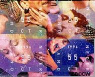 Nederland NL 1702#1705  1996 Kerstengelen  cent  Postfris