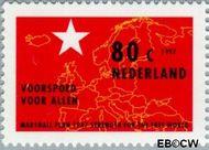 Nederland NL 1723  1997 Algemene Rekenkamer 80 cent  Postfris