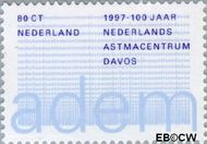 Nederland NL 1731  1997 Nederlands Astmacentrum 80 cent  Postfris