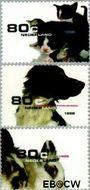 Nederland NL 1779#1781  1998 Huisdieren  cent  Gestempeld