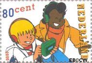 Nederland NL 1921  2000 Strippostzegels- Sjors en Sjimmie 80 cent  Postfris