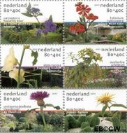 Nederland NL 1973a#1973f  2001 Tuinen in Nederland  cent  Postfris
