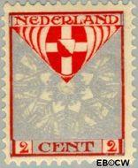 Nederland NL 199  1926 Provinciewapens 2+2 cent  Postfris
