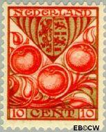 Nederland NL 201  1930 Provinciewapens 10+3 cent  Gestempeld