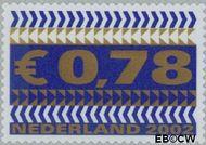 Nederland NL 2045  2002 Zakenzegels 78 cent  Postfris
