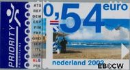 Nederland NL 2063  2002 Euro-zegel 54 cent  Gestempeld