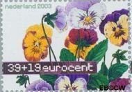 Nederland NL 2166  2003 Aquarellen van bloemen 39+19 cent  Gestempeld