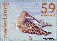 Nederland NL 2171b  2003 Nederlandse Wad 59 cent  Gestempeld