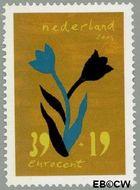 Nederland NL 2257  2004 Bloem en kunst 39+19 cent  Gestempeld