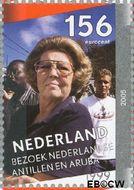 Nederland NL 2342d  2005 Regeringsjubileum Koningin Beatrix 158 cent  Gestempeld