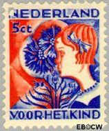 Nederland NL 249  1932 Kinderen en bloemen 5+3 cent  Gestempeld