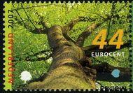 Nederland NL 2493  2007 Bomen in de lente 44 cent  Gestempeld