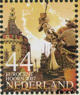 Nederland NL 2496a#  2007 Mooi Nederland- Hoorn  cent  Gestempeld