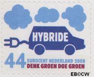 Nederland NL 2550  2008 Tien voor Nederland (Zuinig met energie) 44 cent  Gestempeld