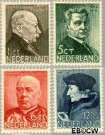 Nederland NL 283#286  1936 Bekende personen   cent  Gestempeld