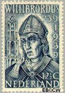 Nederland NL 324  1939 Willibrordus, St. 12½ cent  Postfris