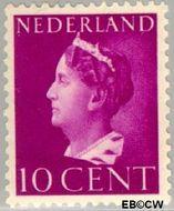 Nederland NL 335  1940 Wilhelmina- Type 'Konijnenburg' 10 cent  Gestempeld