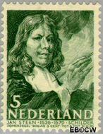 Nederland NL 353  1940 Bekende personen 5+3 cent  Gestempeld