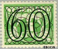 Nederland NL 368  1940 Cijfer type 'Guilloche' of ' tralie' 60 cent  Postfris