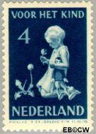 Nederland NL 376  1940 Kind met bloemen 4+3 cent  Postfris